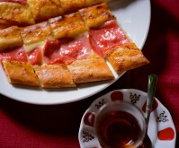 Pide and Çay.