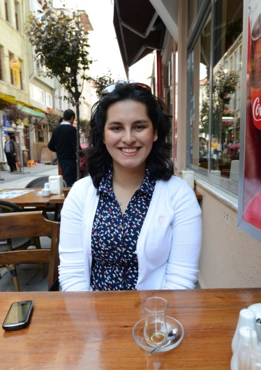 My companion and host, the lovely Yagmur! Our day started with a nice lunch before heading to the Bosphorus.