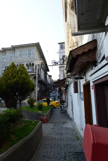 Streets are narrow and mostly uphill when going into town. We stayed along the water, but I've heard the view from the top is fantastic, if you can conquer the steep climbs.