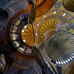 The Blue Mosque and HagiaSophia