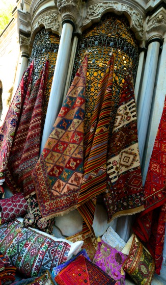 Carpets and textiles.