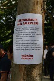 """""""Our Urgent Demands"""""""
