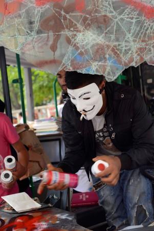 Masked marauders.