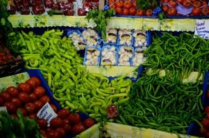 Various veggies.