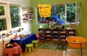 The summer school classroom.