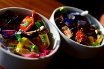 Candy for the end of Ramazan, which Muslims celebrate with Sekur Bayram, or Sugar Feast.