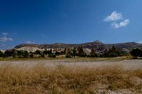 Walking through Goreme. We hiked for a few kilometers for a panoramic view of the valley. Worth every step!