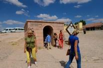 Entrance to the underground city.