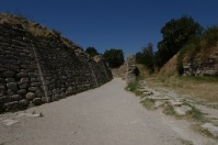 Heading towards one of the entrance gates to the city, now ruins.