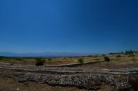 We walked through Heirapolis before reaching the calcium pools of Pamukkale.