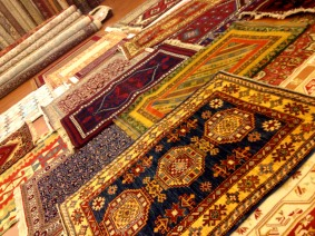 One of these rugs is worth more than my life.