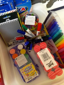 Our start-of-the-year teachers' kit full of fresh supplies.