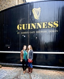 The brewery for Guinness is located in the heart of Dublin, Ireland. Of course, being such huge fans, we had to make a visit!
