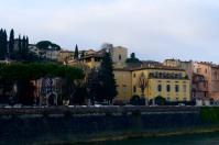 A morning walk along the Arno.